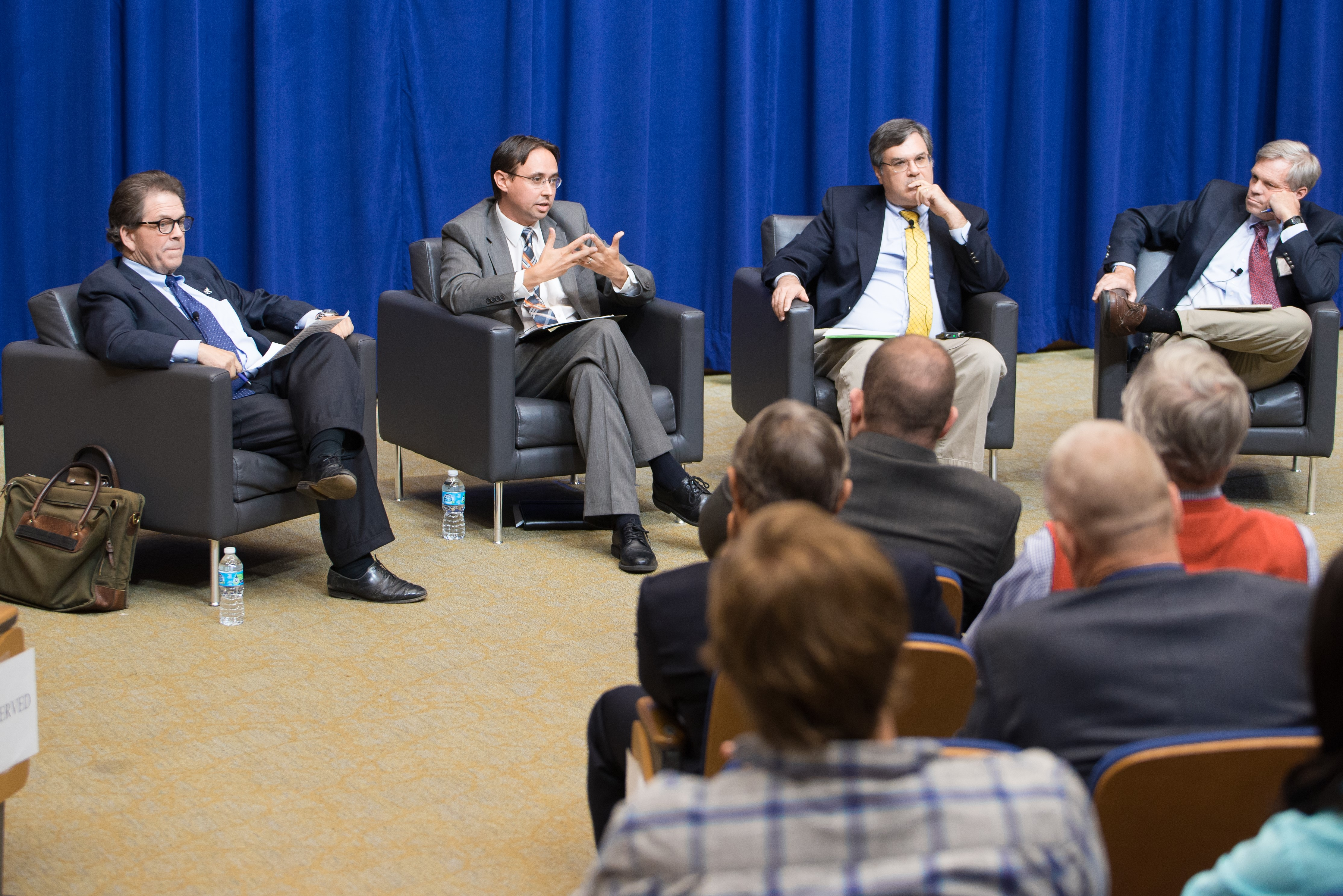 Dr. Arthur Laffer, Jason Bailey,  Dr. Chris Bollinger & Dr. William Hoyt
